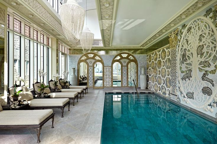 Spa pool at Ashford Castle