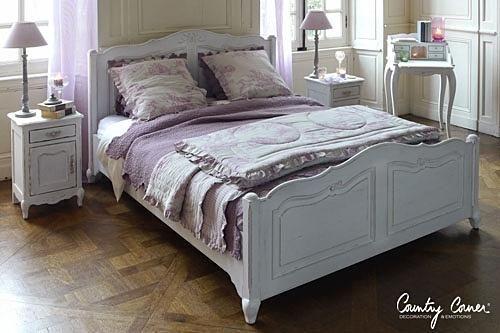TR HXN7 ナイトテーブル[France Bed]:シャビーシック&エレガント,ホワイト系,Home's Style(ホームズスタイル)のサイド・小テーブルの画像