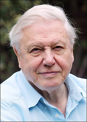 David Attenborough- BBC Planet Earth and many more nature programmes.