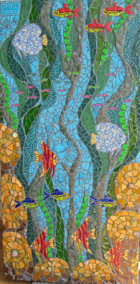 La diosa del agua - foto mosaico