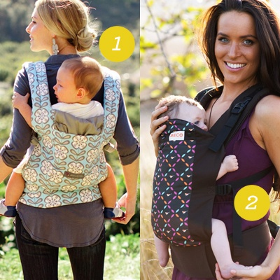 List of Favorite Baby Carriers. I had a Beco but the clips aren't as easy to remove solo like the Ergo Baby brand.
