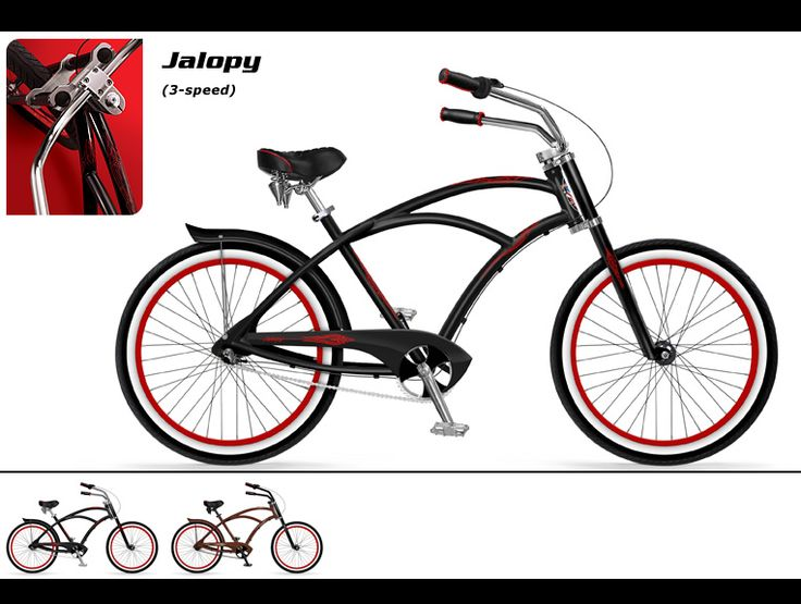 Phat Cycles Beach Cruisers Modified Bicycles Jalopy Bike