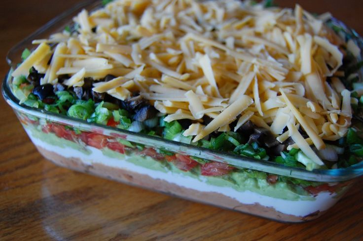 Bean Dip - This makes a wonderful presentation and is a hit at any ...