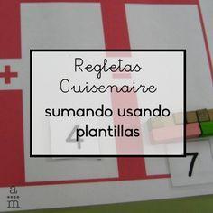 Las regletas Cuisenaire es un fantástico material manipulativo para comprender las operaciones aritméticas en todos los cursos de primaria.