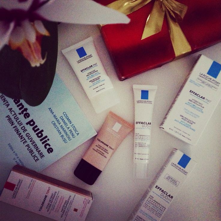 My essences for today #larocheposay #florinamindu