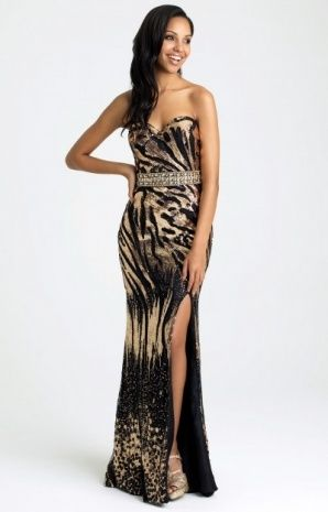 Animal Print Ball Gowns