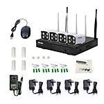 8CH 960P Plug and Play Wireless NVR Kits Waterproof IR Night Vision Security WIFI IP Camera 36LEDs Surveillance CCTV System 2017 - $349.92