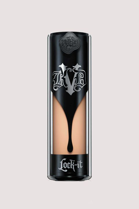 9 Full-Coverage Foundations That Conceal Everything Like Second Skin Check out our list of the very best foundations out there!  We love the Kat Von D Lock-It Foundation because it's creamy and *amazing* at covering up. As in: it can cover up face tattoos perfectly. Yes, really.