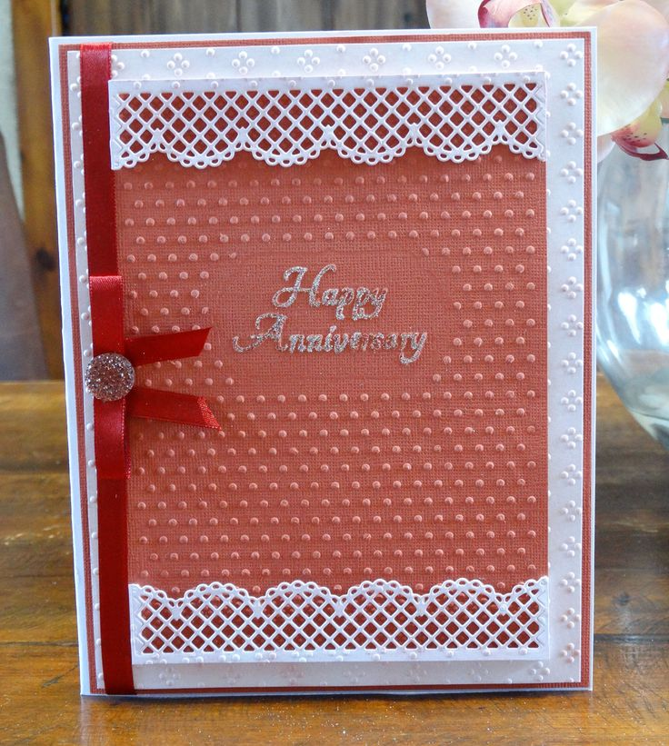 Card Making Ideas With Embossing Folders Part - 31: Tattered Lace Interchangeable Embossing Folders · Wedding  AnniversaryAnniversary CardsTattered ...