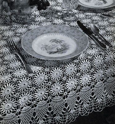 17 Best ideas about Crochet Tablecloth Pattern on ...