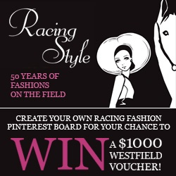 Enter for your chance to win! Visit www.springracingcarnival.com.au #RacingStyle