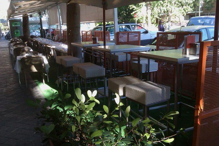 #terraza #restaurante El Olvido #Madrid