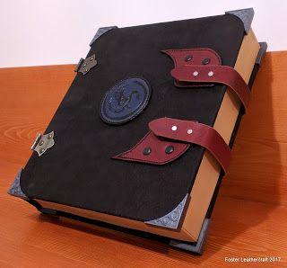 Foster Leathercraft: DM Toolbox, Black & Blue
