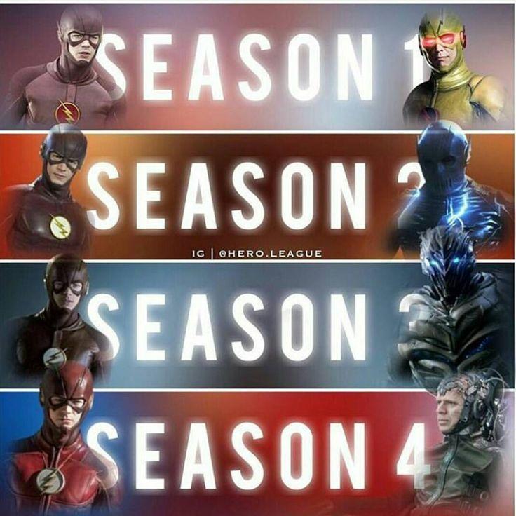 The Flash vs The Villians Seasons 1-4