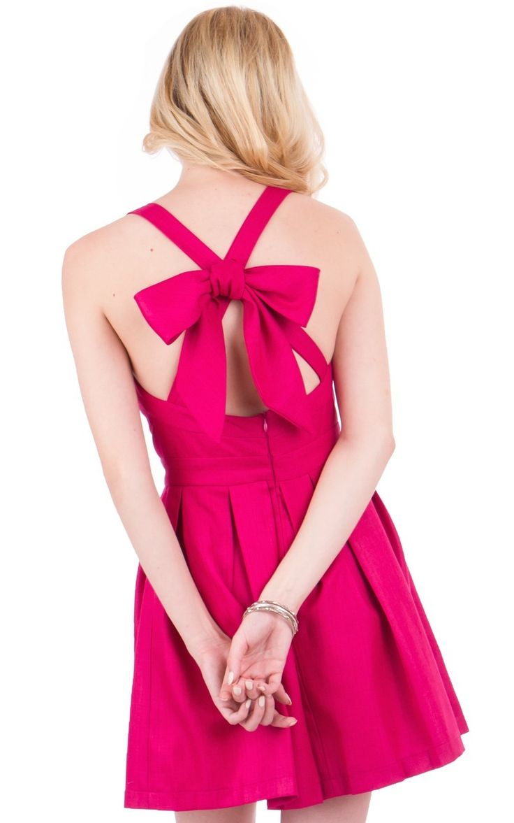 The Charlotte Dress has all the elements of an instant classic and a chapter favorite. This halter dress has a flattering sweetheart neckline, natural waistband, and box pleat skirt that is flattering on every body type. The straps criss cross in the back.   Don't see the color you need?  No problem, just ask and we will find it for your custom group order!