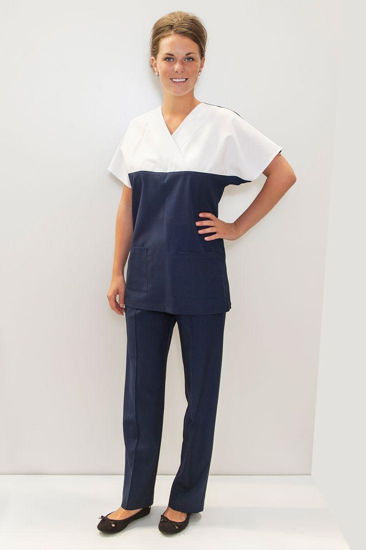 Womens Scrubs Uniform - medical, dental, pharmacy - made in WA