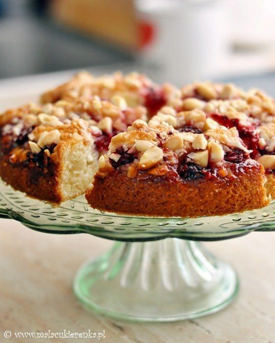raspberry almond coffee cake   Sweet Treats   Pinterest
