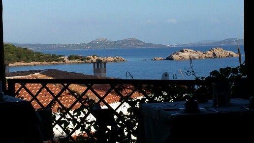 Colazione sull'arcipelago della Maddalena