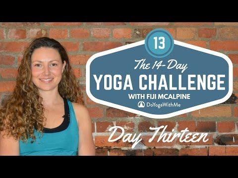 34 mins - 14-Day Yoga Challenge with Fiji McAlpine: Day Thirteen - YouTube