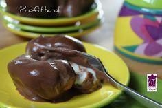 Profiteroles al cioccolato