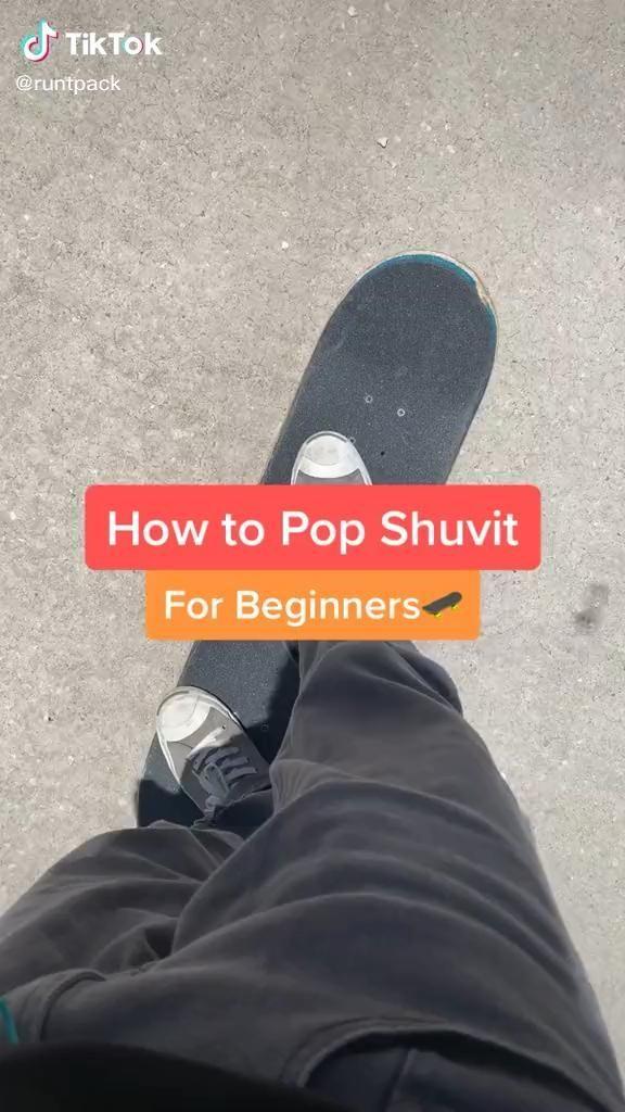 Pop Shuvit In 2020 Skateboard Cool Skateboards Skateboarding Tricks