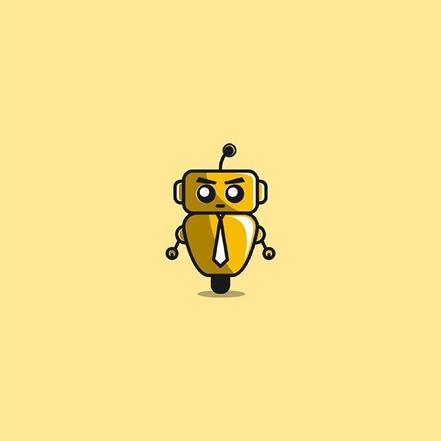 Robot Boss | Unused Logo | For Sale  Contact : ariefimamafandi@gmail.com  paypal payment  #robot #robots #boss #fun #funny #cute #forsale #logo #logoawesome #logodesign #logodesigner #logomaker #logomore #paypal #cheymarketing #logoinspiration #logoinspirations #logoinspire