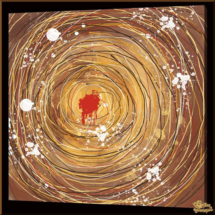 Abstract - 560 Абстракция, картины, картина маслом, сувенир, подарки