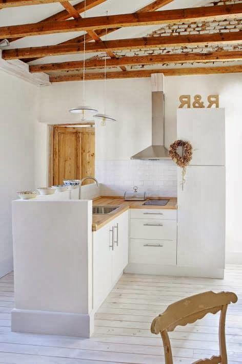 Reforma cocina abierta en peque o apartamento con - Muebles para apartamentos pequenos ...