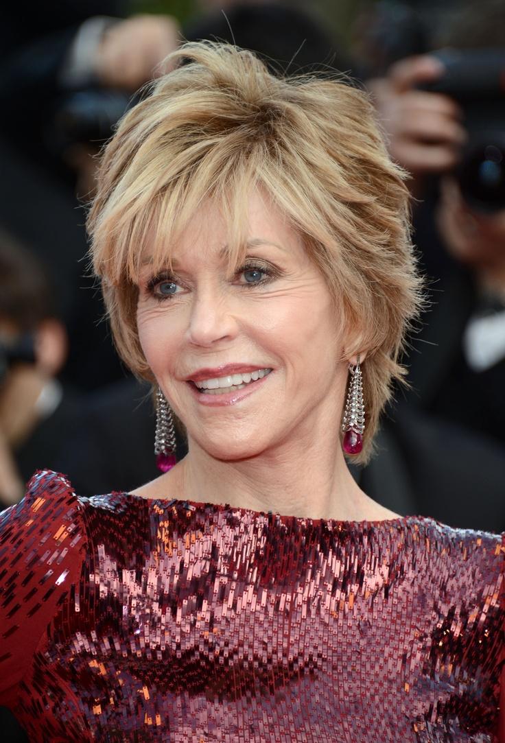 Jane Fonda Short Haircut