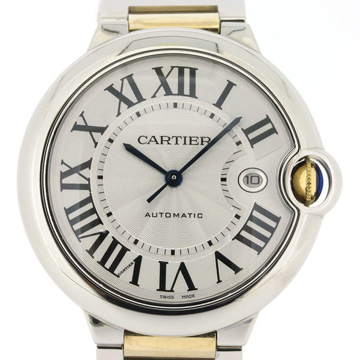 【商品名】カルティエ(Cartier) W69009 Z3 バロンブルー LM コンビ オートマチック SS YG メンズ シルバー文字盤 時計【価格】¥678,000【状態】SA 2、3回使用程度の非常に綺麗な状態の商品です。