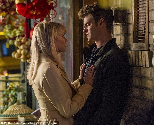 Conflict: Gwen Stacy and Peter Parker's relationship is on the rocks in The Amazing Spider-Man 2, with his alter-ego causing difficulties wi...