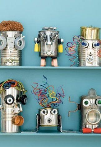 DIY robot - Kidskamers