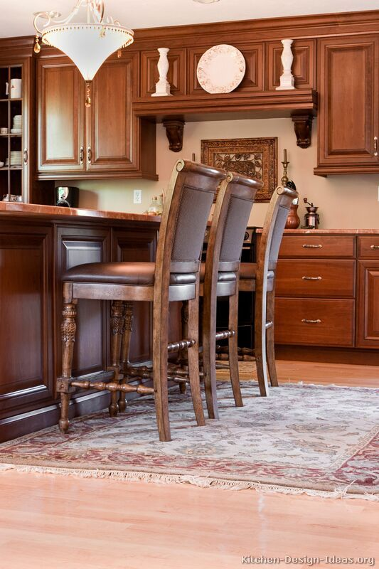 Kitchen Ideas For Medium Kitchens 90 best cherry color kitchens images on pinterest | pictures of