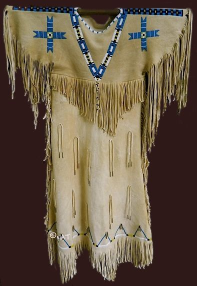 Native American (Plains Indian) Women's Dresses