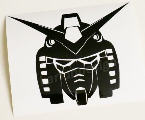 GUNDAM-RX-78-Head-Vinyl-Decal-Sticker-robot-manga-anime-wall-window-car-decal