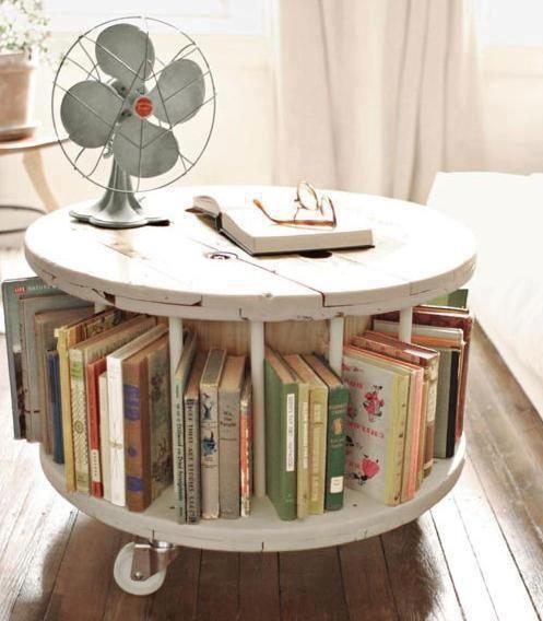 Another creative #bookshelves idea!