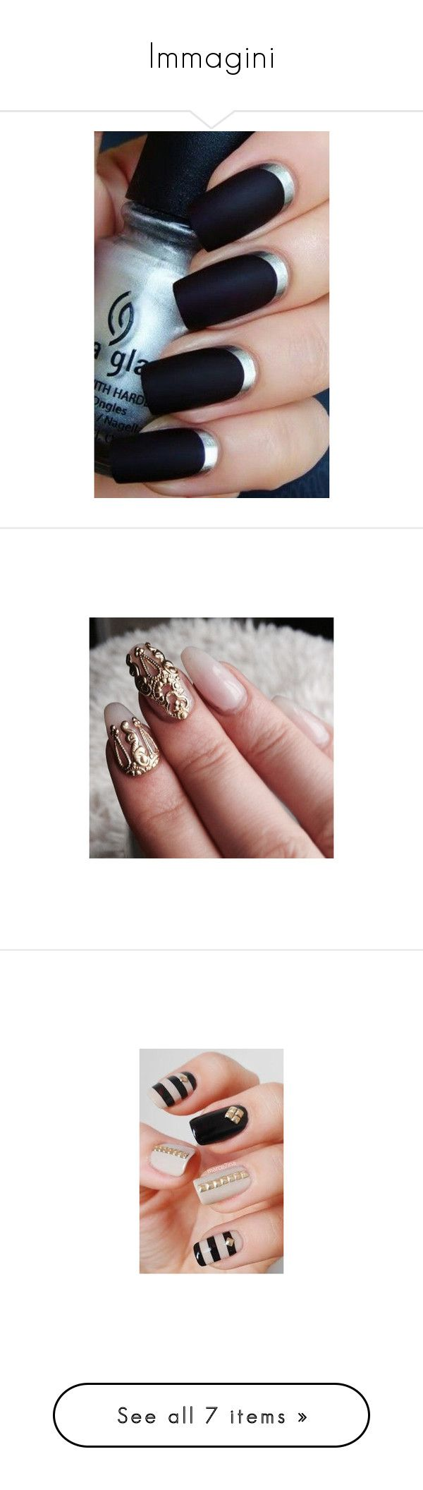 """""""Immagini"""" by fragolissima ❤ liked on Polyvore featuring beauty products, nail care, nail polish, nails, makeup, nail treatments, beauty, unhas, scented nail polish and accessories"""