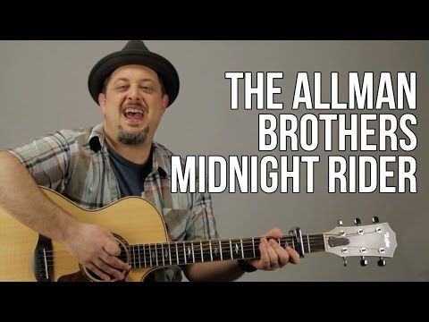 How To Play The Allman Brothers - Midnight Rider - YouTube