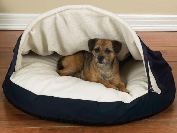 camas para mascotas caseras