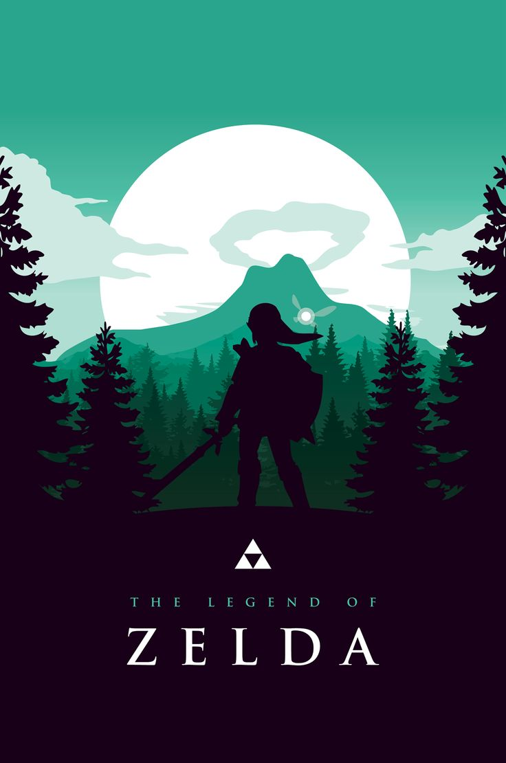 Poster design tumblr - A Legend Of Zelda Poster Design Inspired By The Work Of Olly Moss