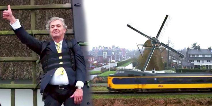 Dutch Trains Are World's First to Run on 100% Wind Power Lorraine Chow Jan. 10, 2017 08:05PM EST