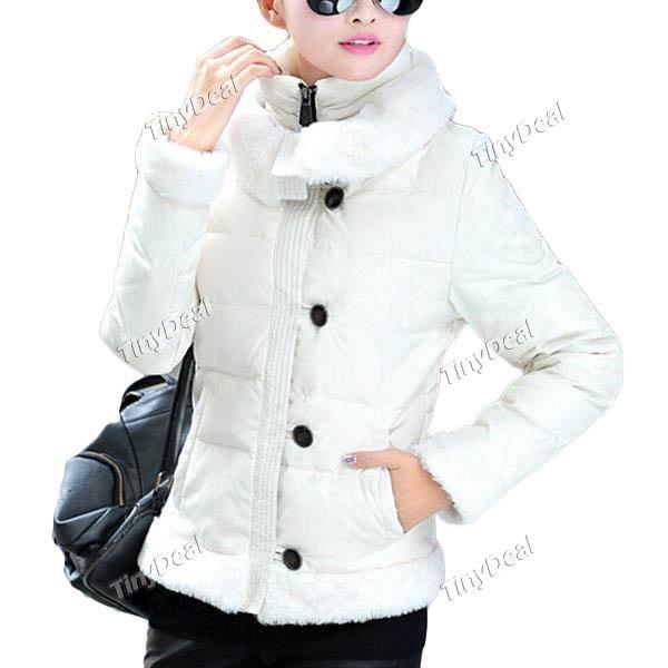 Зима Повседневная Чистота Пуффер Мода для женщин девушки дамы DCD-345064