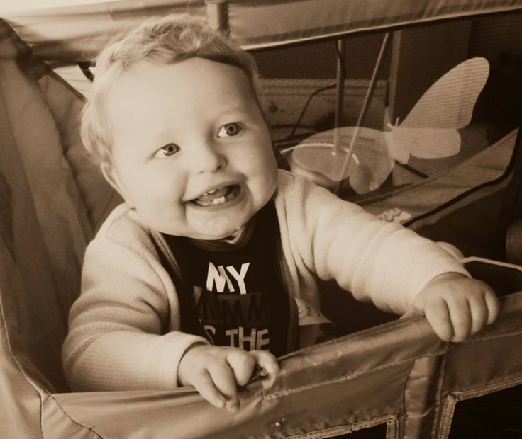 Baby laughing at his daddy saying 'Lanzarote' http://www.dollydowsie.com/2014/01/project-365-picture-number-20-bird.html