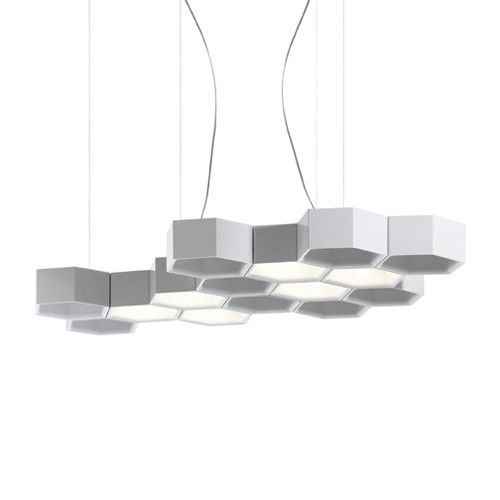 Honeycomb Suspension Light