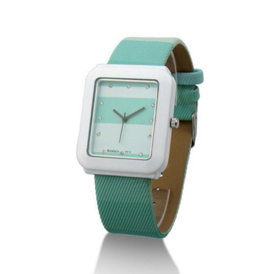 Fashion Quartz Crystal Women Ladies Girls Wrist Watch Square Dial Green 205 #unbranded #Casual