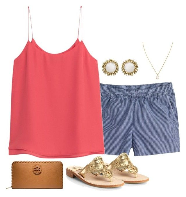 """""""I am at a kendra scott store right now!!!!"""" by thedancersophie ❤ liked on Polyvore featuring J.Crew, MANGO, Kendra Scott, Jack Rogers and Tory Burch"""