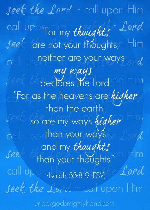 87 best bible study and memorization images on pinterest bible isaiah 558 9 image free imageprintable at undergodsmightyhand fandeluxe Choice Image