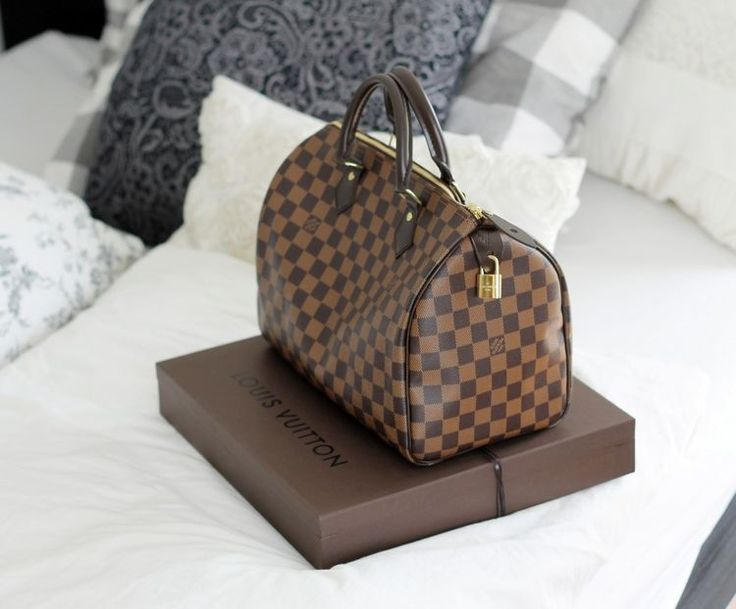 Louis Vuitton Speedy 30 Damier Ebene Canvas I still love mines after all of this time! ✔️