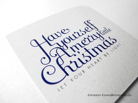 Christmas Cards  - Canvas Stationery Boutique