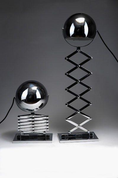 Scissor lamp, Dorothee Becker, 1968, Munich